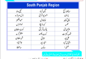 Franchise call south region 1
